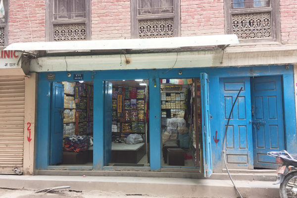 typical shop in Thamel area